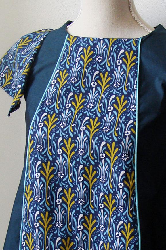 blouse-bleu-canard-art-nouveau-4-tissumi