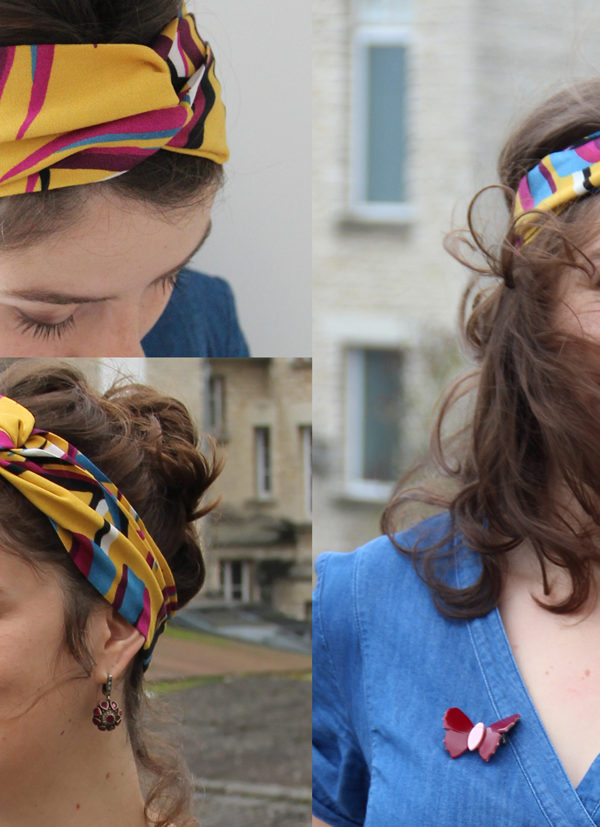 headband jaune tissumi bd